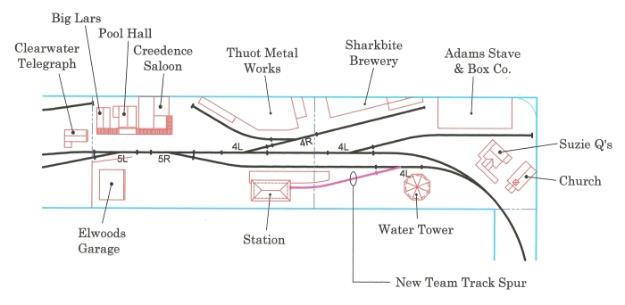 Team track new location
